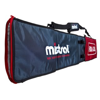 Mistral PADDEL BAG red-gray for 1 + 2 piece paddle quality bag