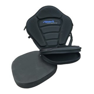 Ergonomic kayak seat for SUP and canoe yak - Sport Vibrations® Edition