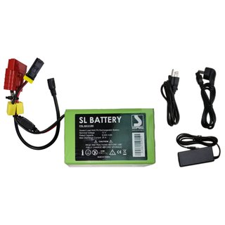 Semi - lead battery 9 mAh incl. Extra plug mounted for older models - complete incl. Charger - suitable for Sport Vibrations® Edition & Bravo / Scoprega electric pumps