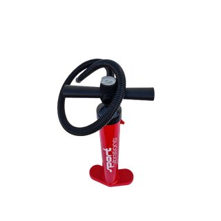 Sport Vibrations® 28 PSI Red-Edition Doppelhub Handpumpe integr. Manometer