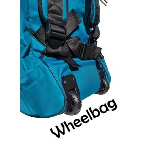Sport Vibrations® SUP Backpack Wheelbag with XXL wheels, extra outer compartment & shoulder strap system