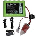 Semi - Power Ni / mH battery 9 Ah complete incl. Charger...