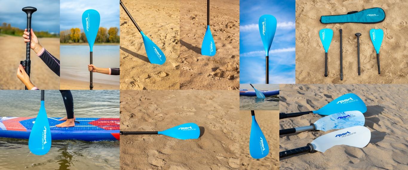 Sport Vibrations® CarbonComp Paddel